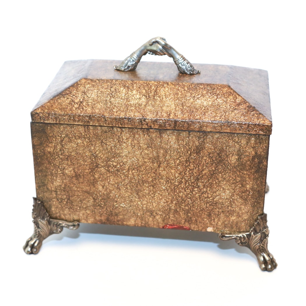 Maitland-Smith Box with Lid
