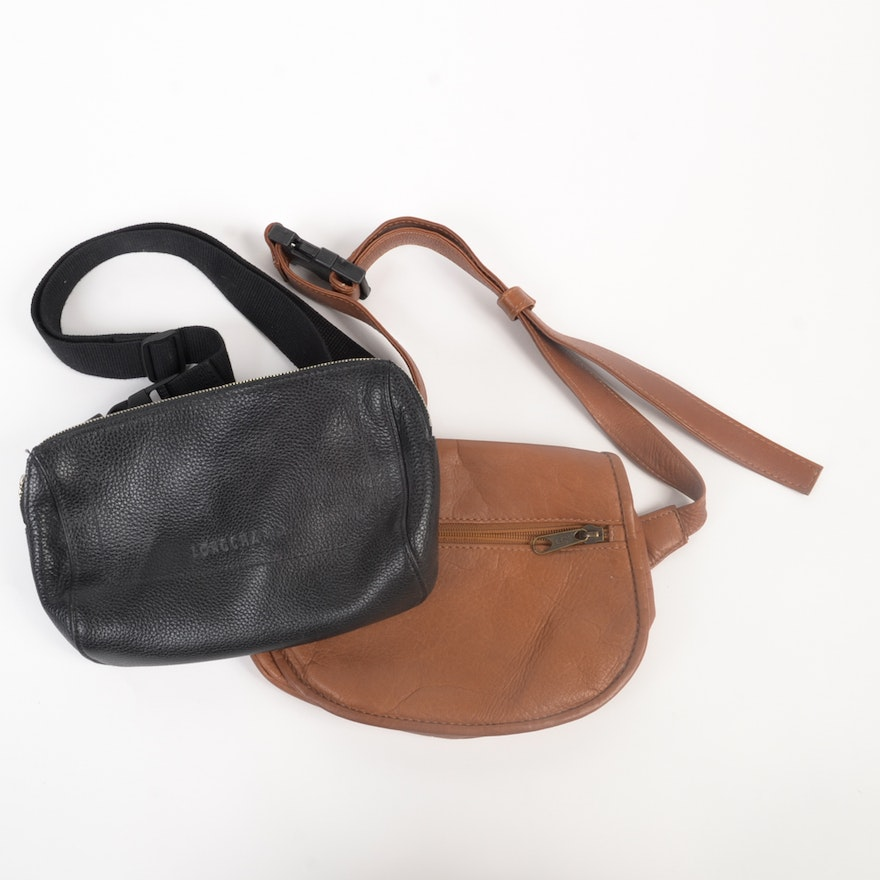 Leather Belt Bags Including Longchamp