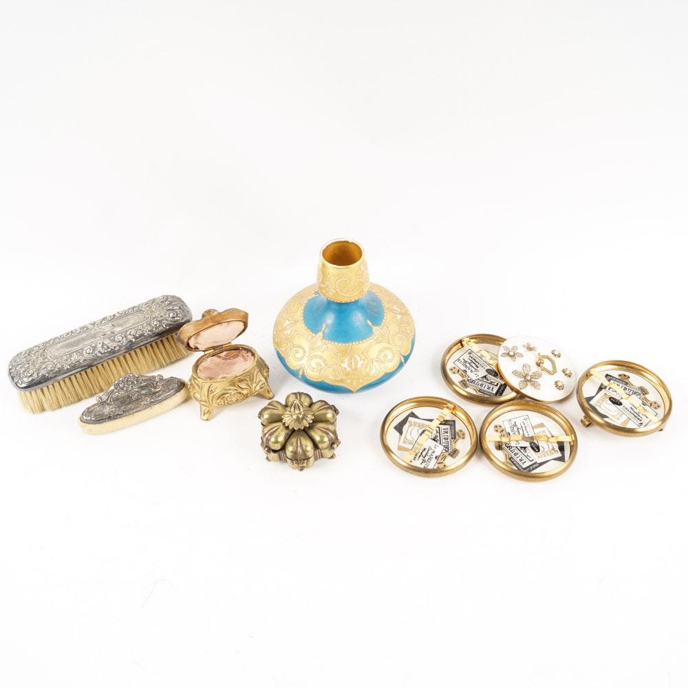 Ornate Vanity Accessories