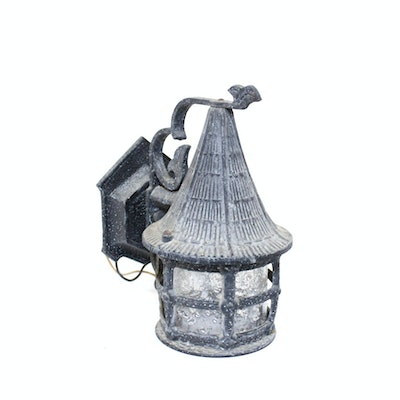 Vintage outdoor lighting used exterior lighting fixtures in the vintage exterior wall sconce aloadofball Images