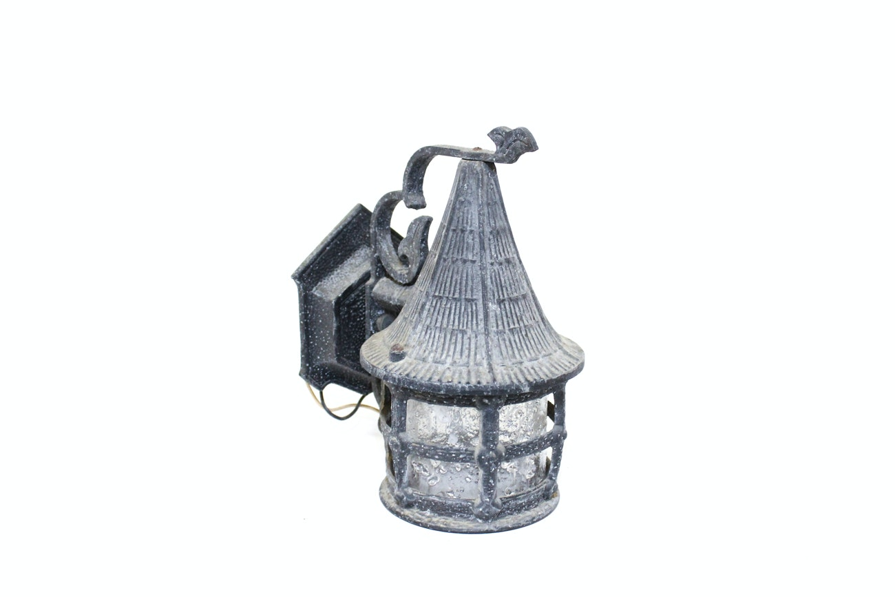vintage exterior wall sconce