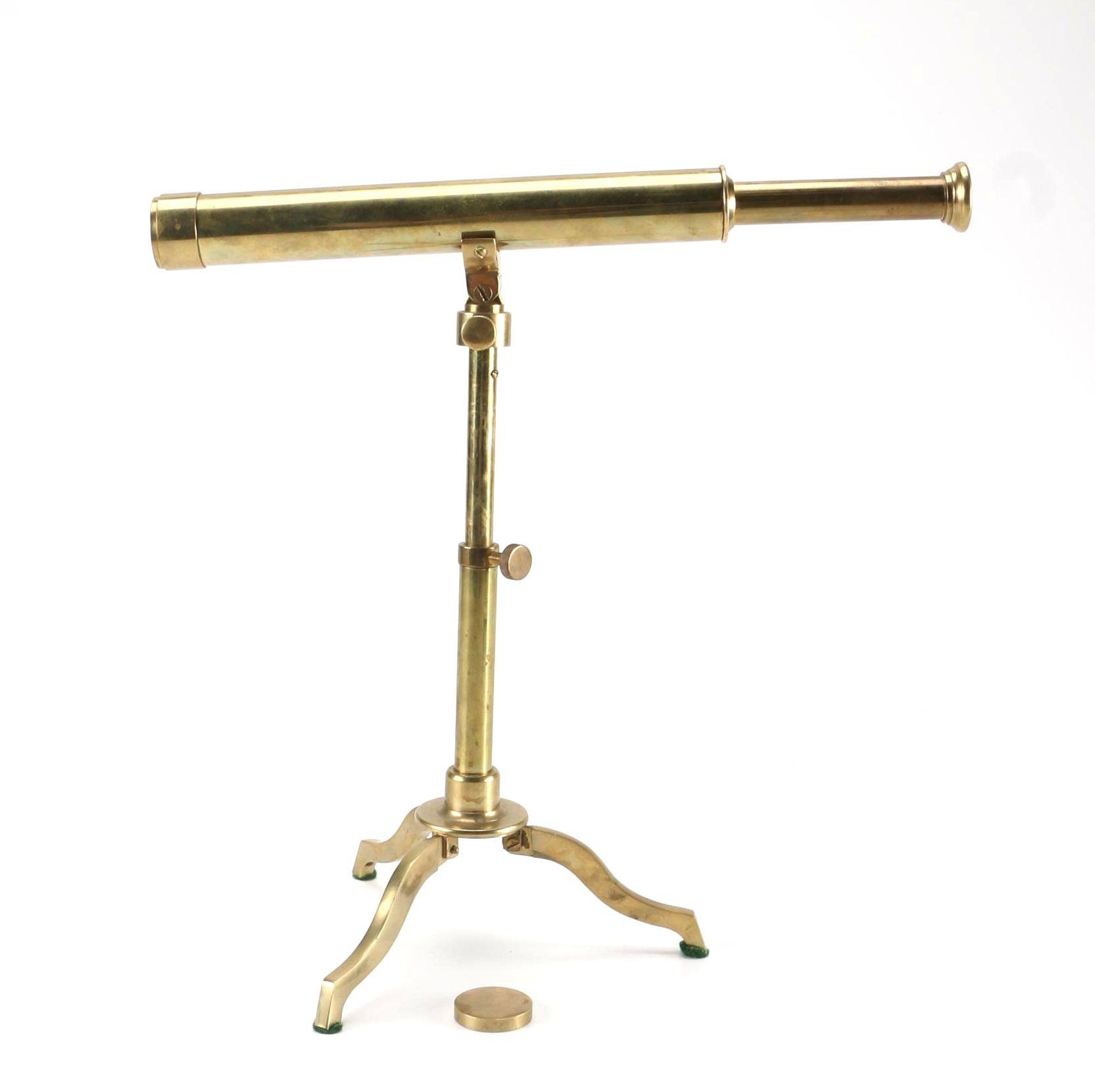 Brass Telescope With Matching Tripod