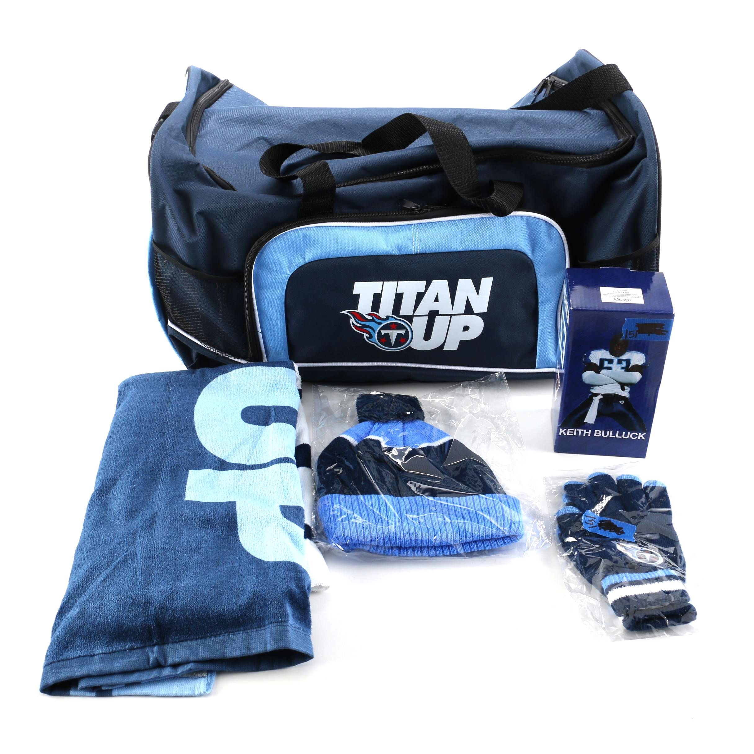 Tennessee Titans Gym Bag and Gear