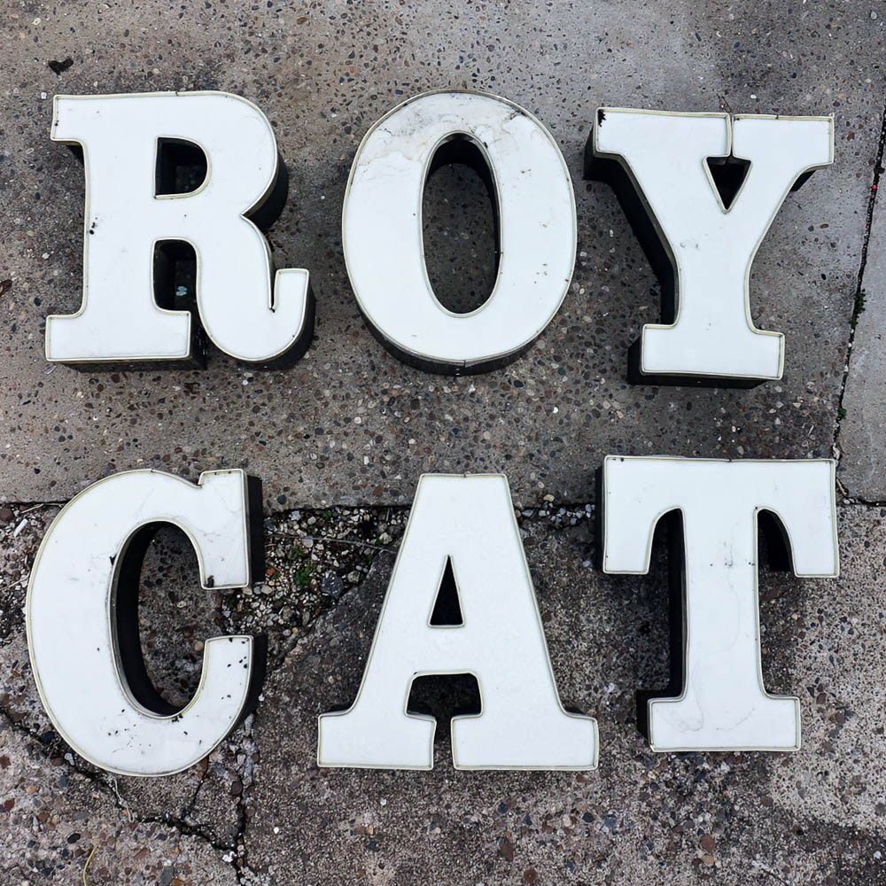 Vintage Architectural Sign Letters