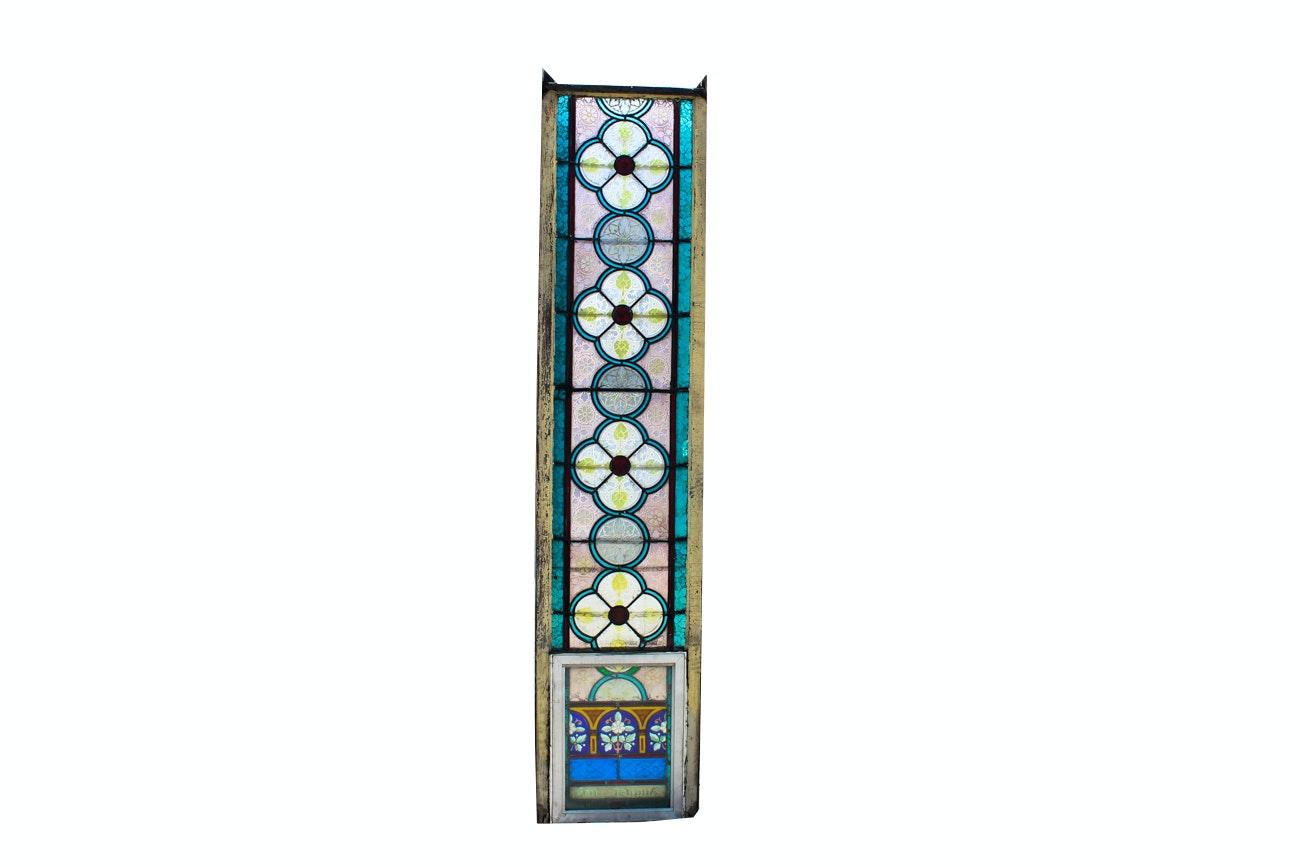 St. Bonaventure Catholic Church Large Stained Glass Window
