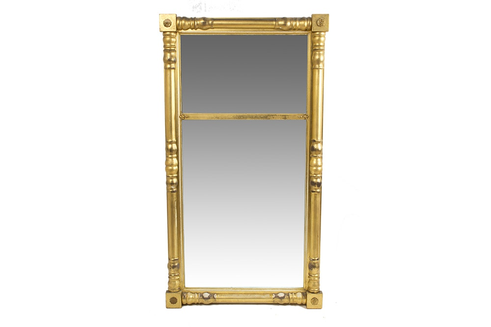 Paine Furniture Company Empire Tabernacle Style Wall Mirror ...