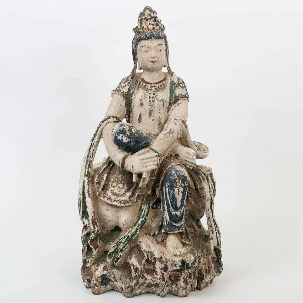 Chinese Buddhist Statue of Guanyin