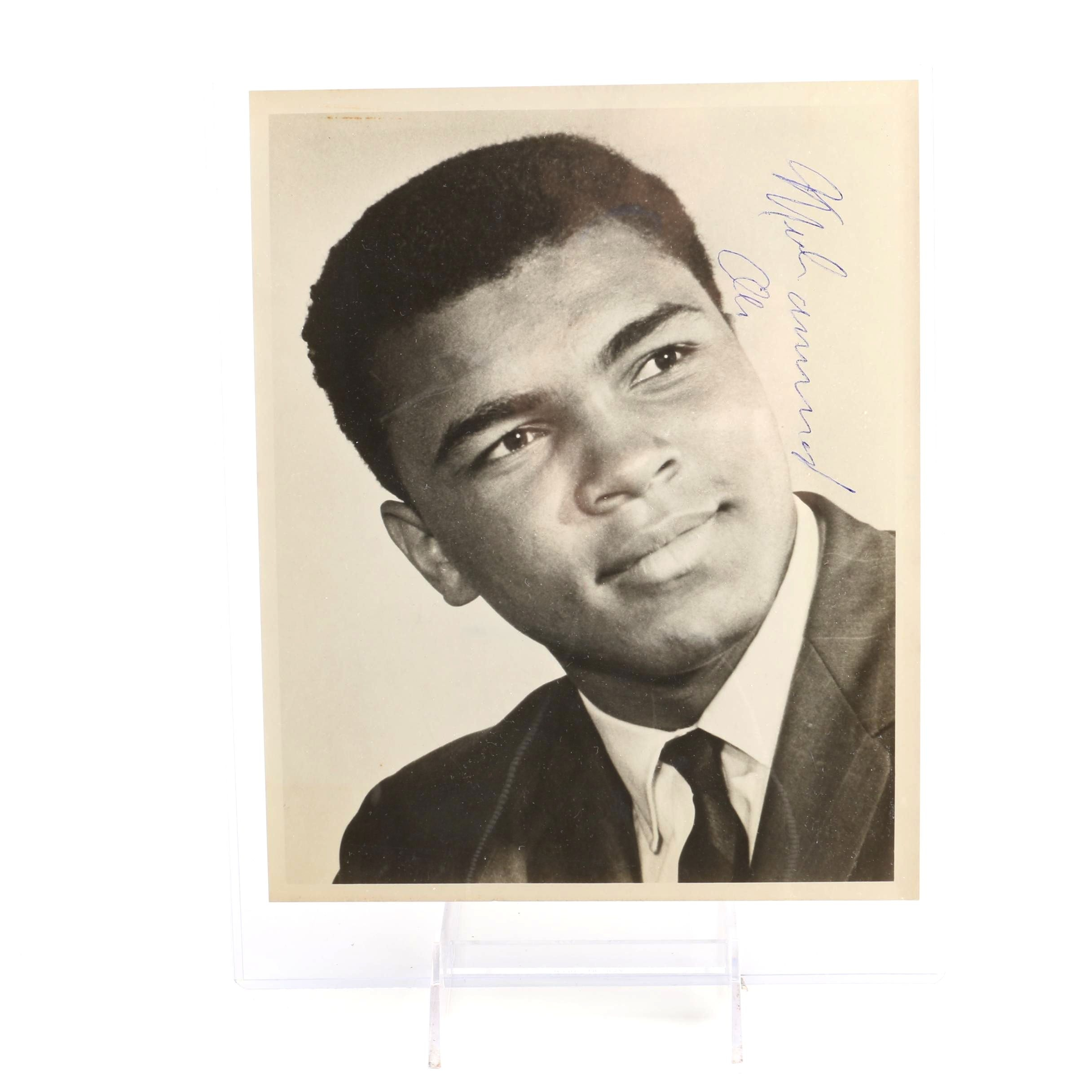 JSA Approved Muhammad Ali Signed Photograph