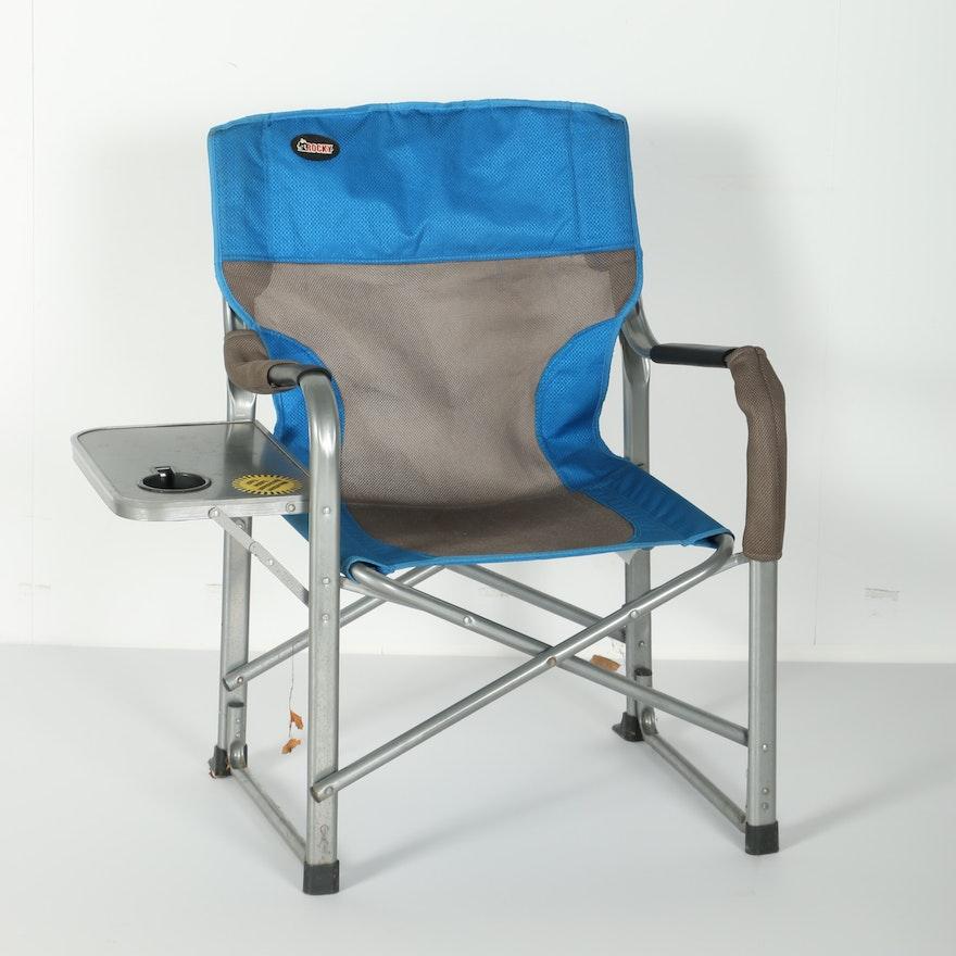 rocky folding camp chair ebth