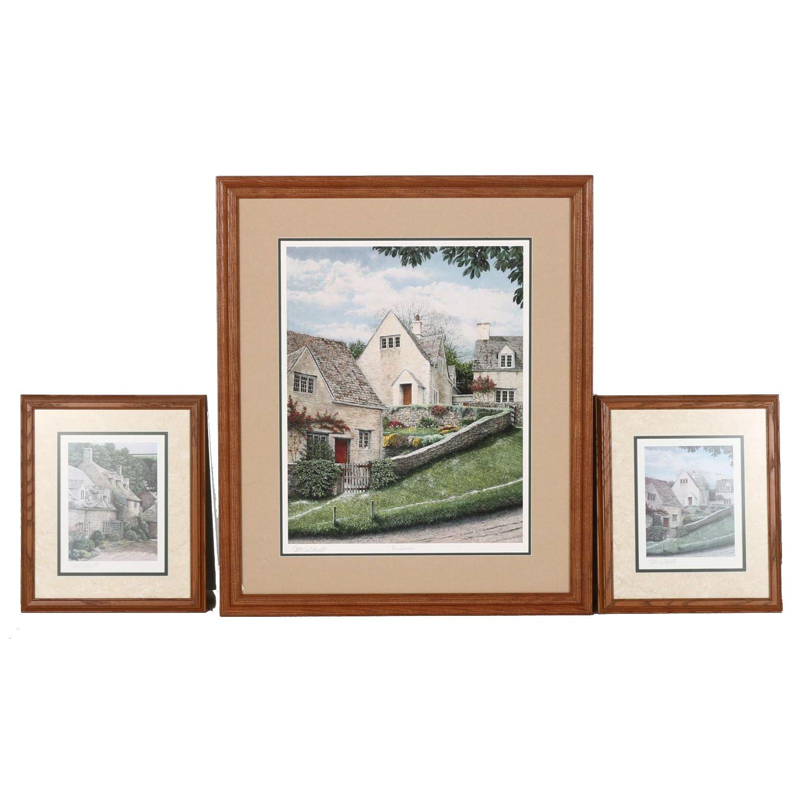 Framed Offset Lithographs after Tom Caldwell