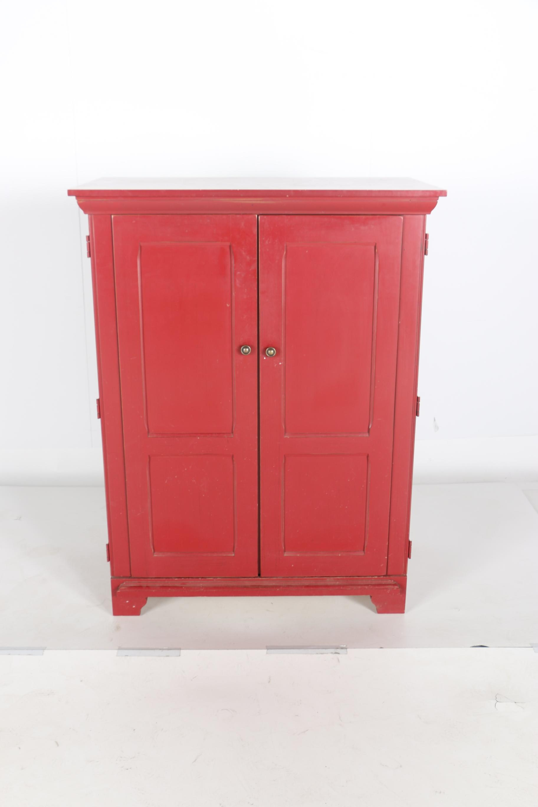 Painted Wood Armoire by Riverside and Home Decor