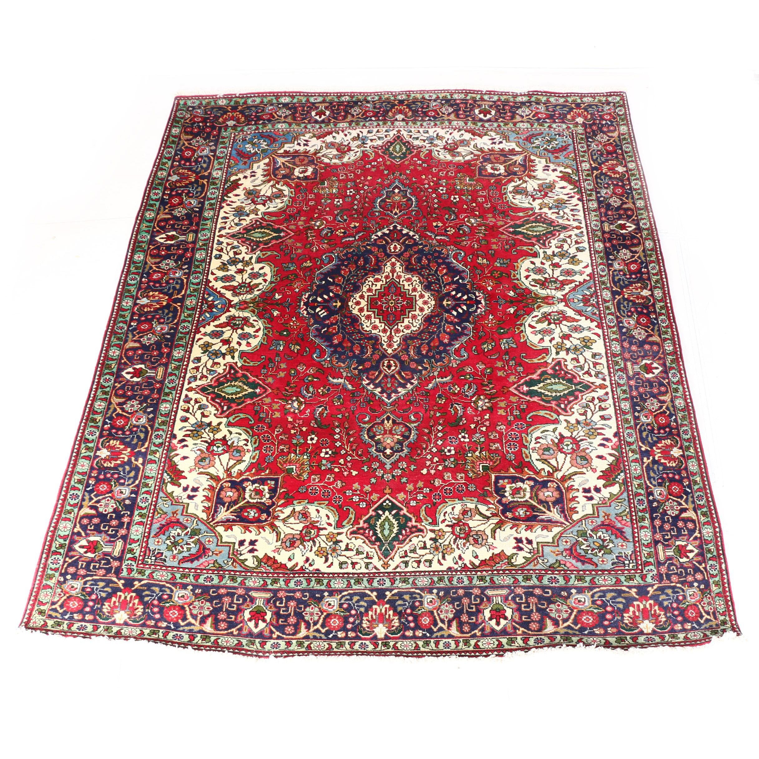 Power Loomed Indo-Persian Wool Area Rug