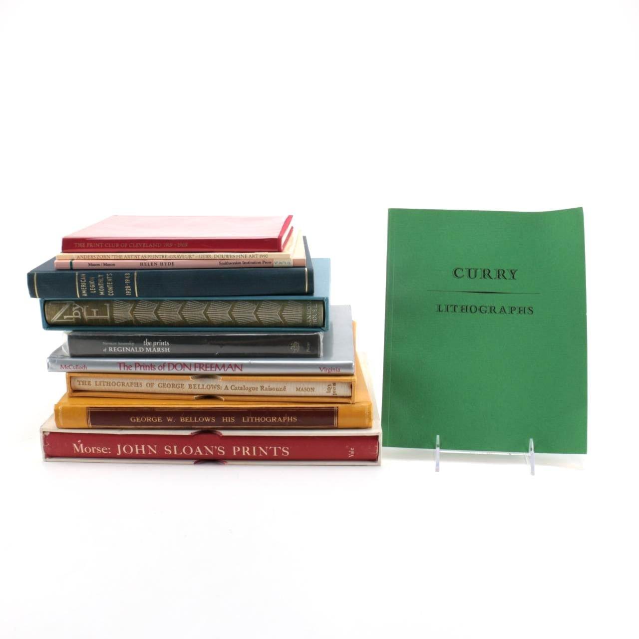 Books Featuring Lithographic Arts