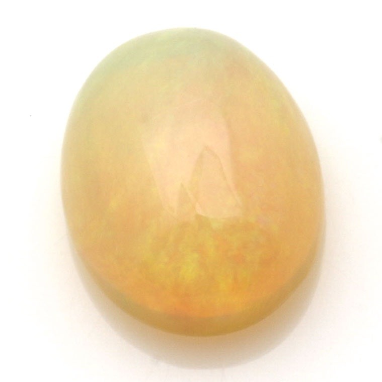 Loose Oval Jelly Opal Cabochon