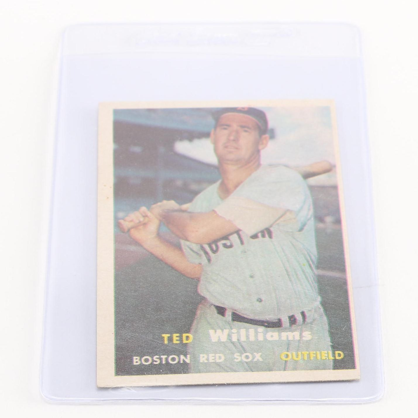 1957 Topps Ted Williams (#1)
