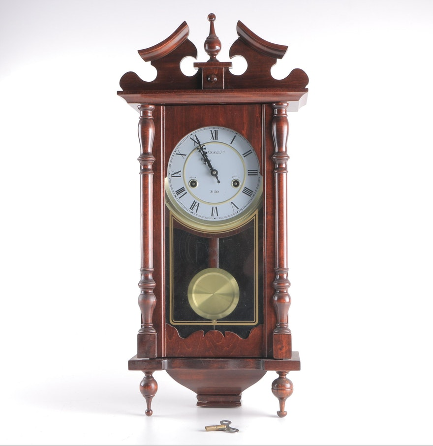Kassel 31 day wall clock ebth kassel 31 day wall clock amipublicfo Image collections
