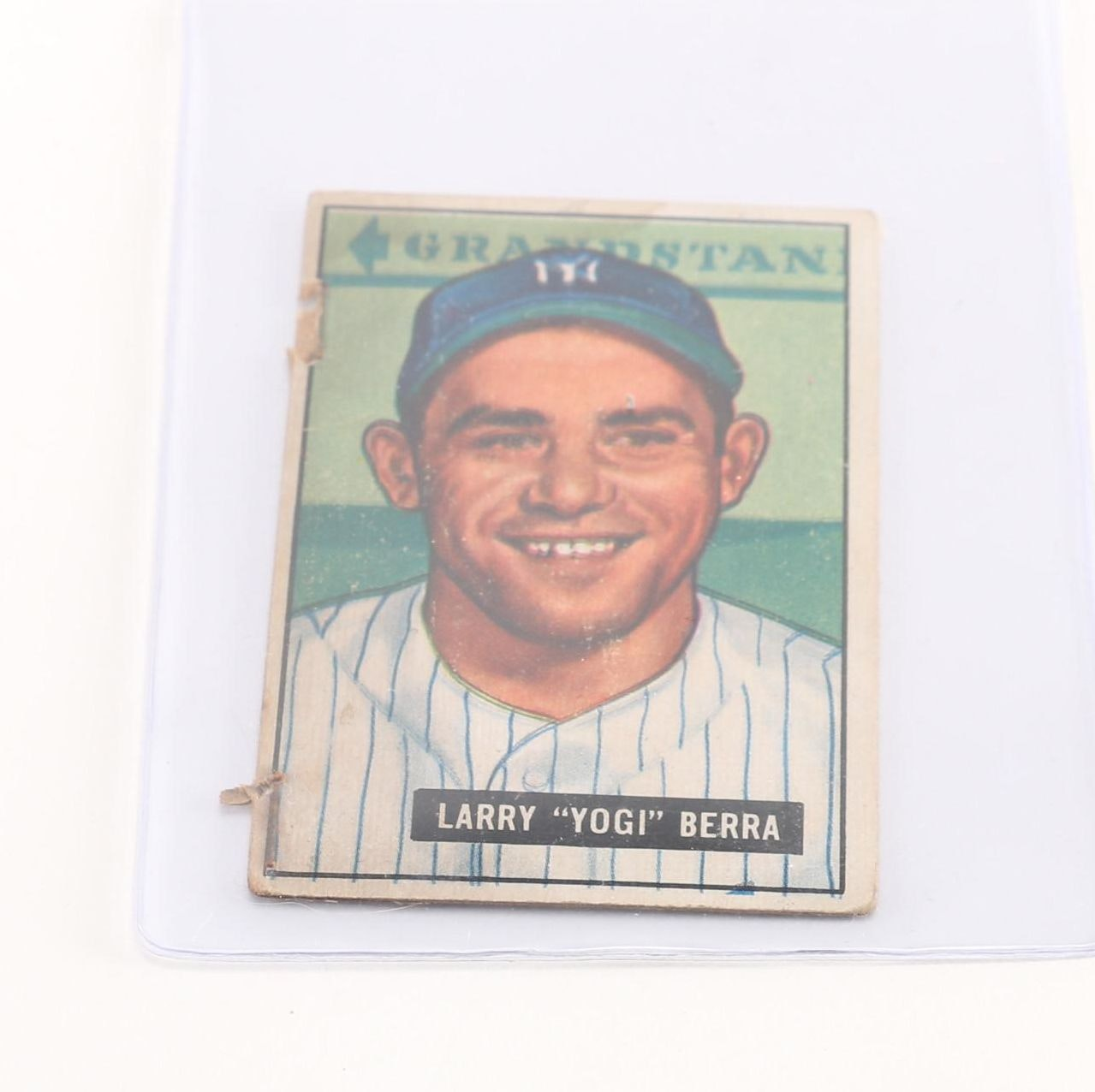 1951 Bowman Yogi Berra Card