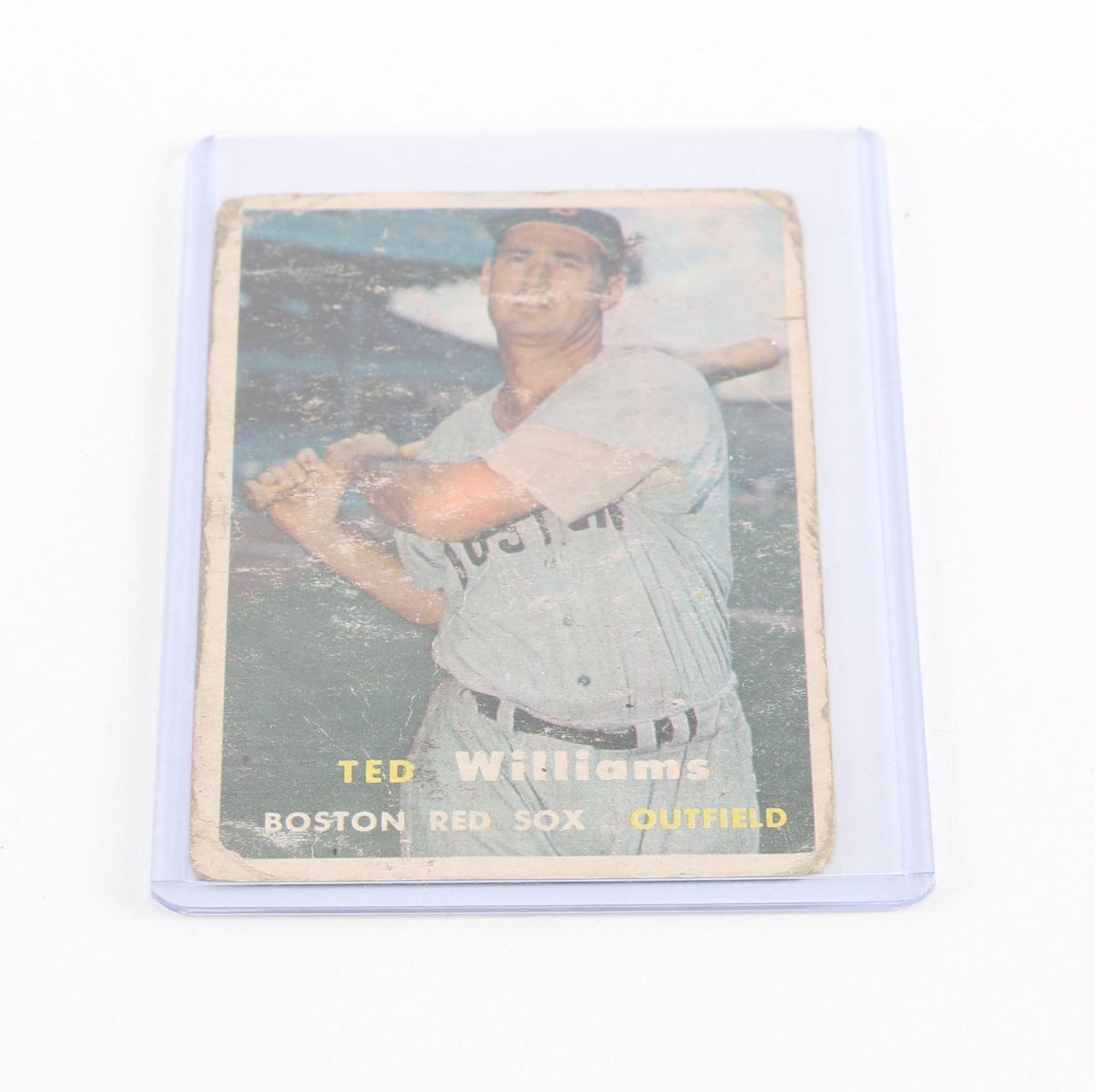 1957 Topps Ted Williams Card