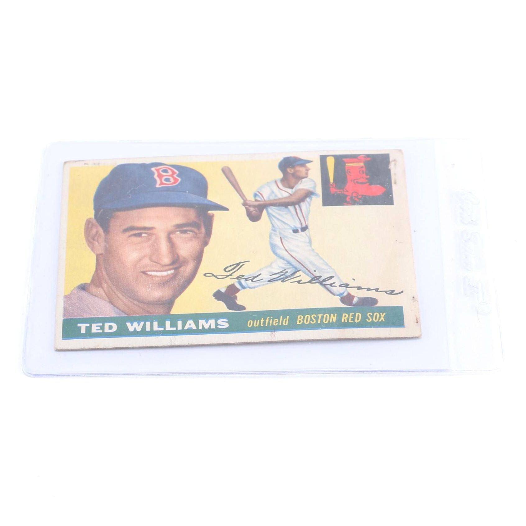 1955 Topps Ted Williams Card
