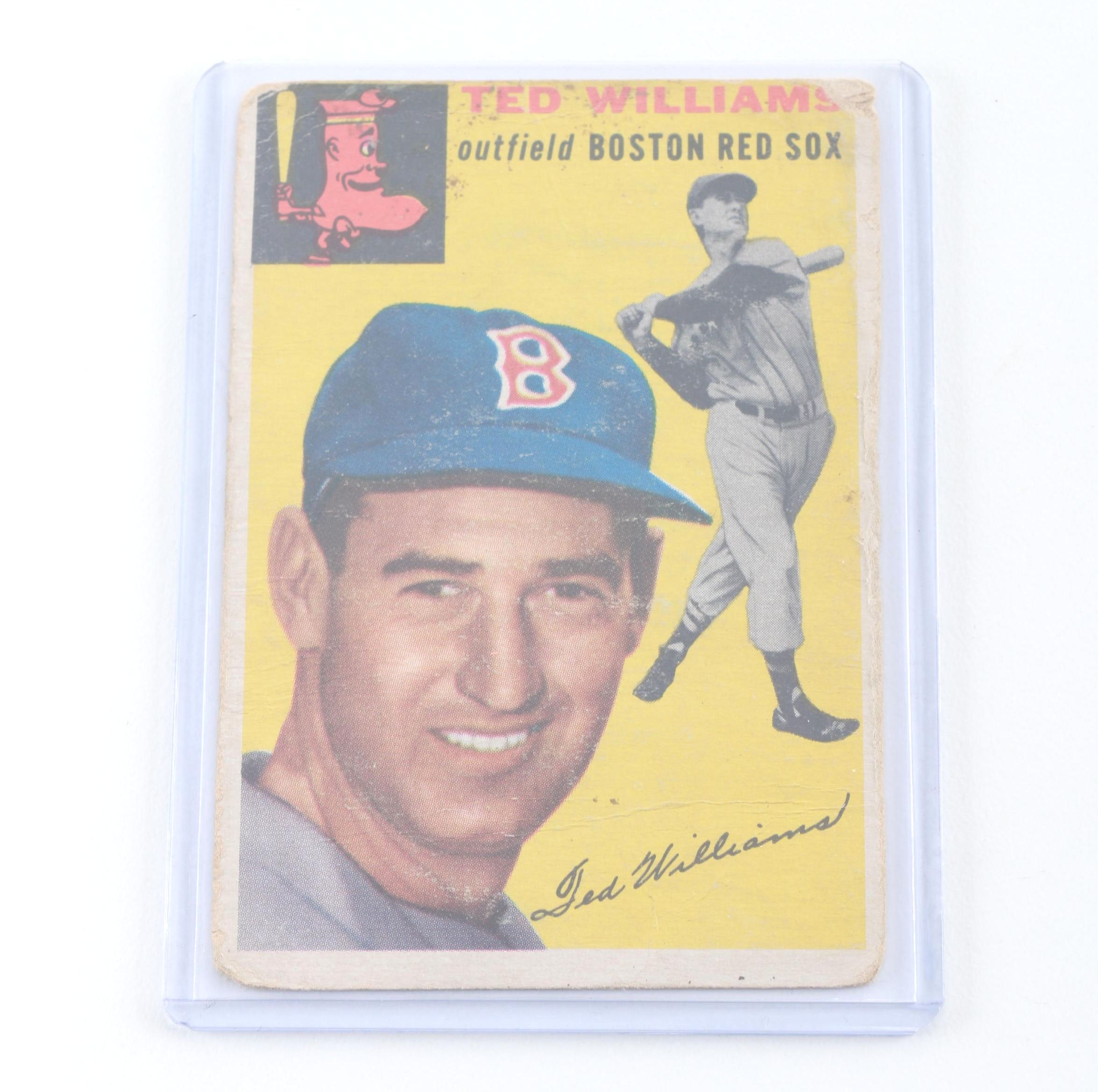 1954 Topps Ted Williams #250 Baseball Card