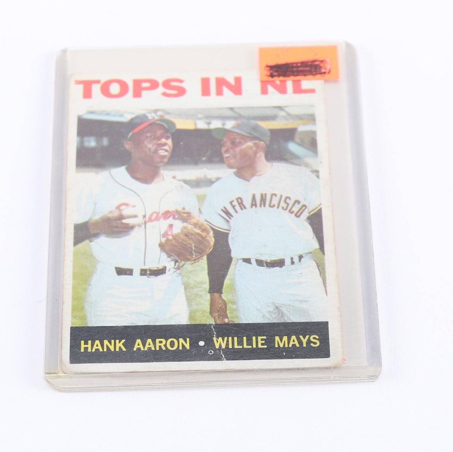Hank Aaron and Willie Mays Card