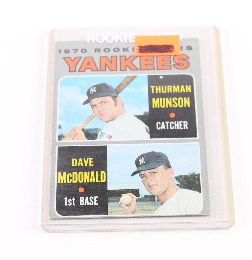 Topps 1970 Rookie Stars Yankees #189 Baseball Card : EBTH