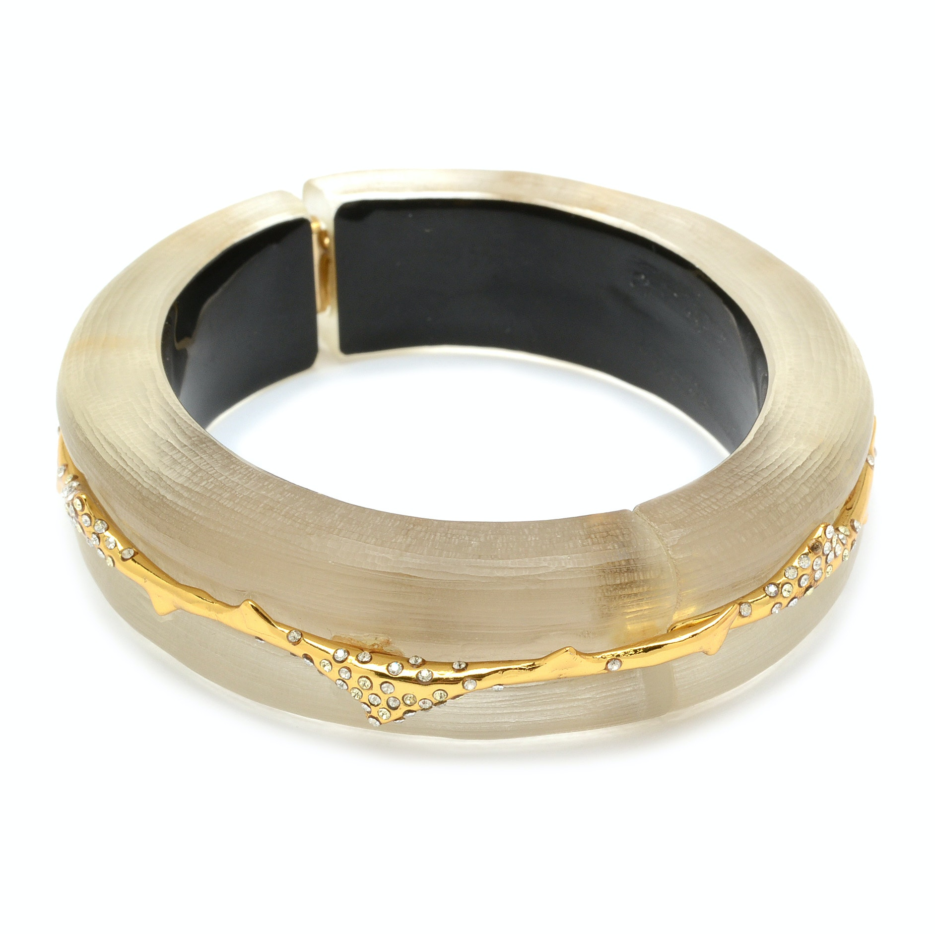 Alexis Bitar Designer Hinged Bangle Bracelet