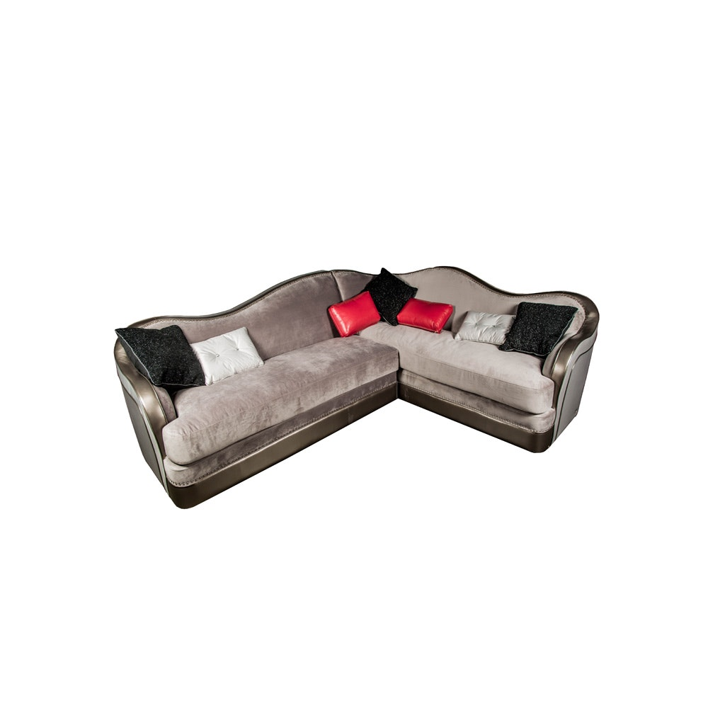 Sectional Sofa by Michael Amini and Jane Seymour for Aico