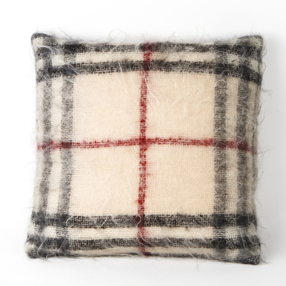 Burberry Mohair and Wool Pillow