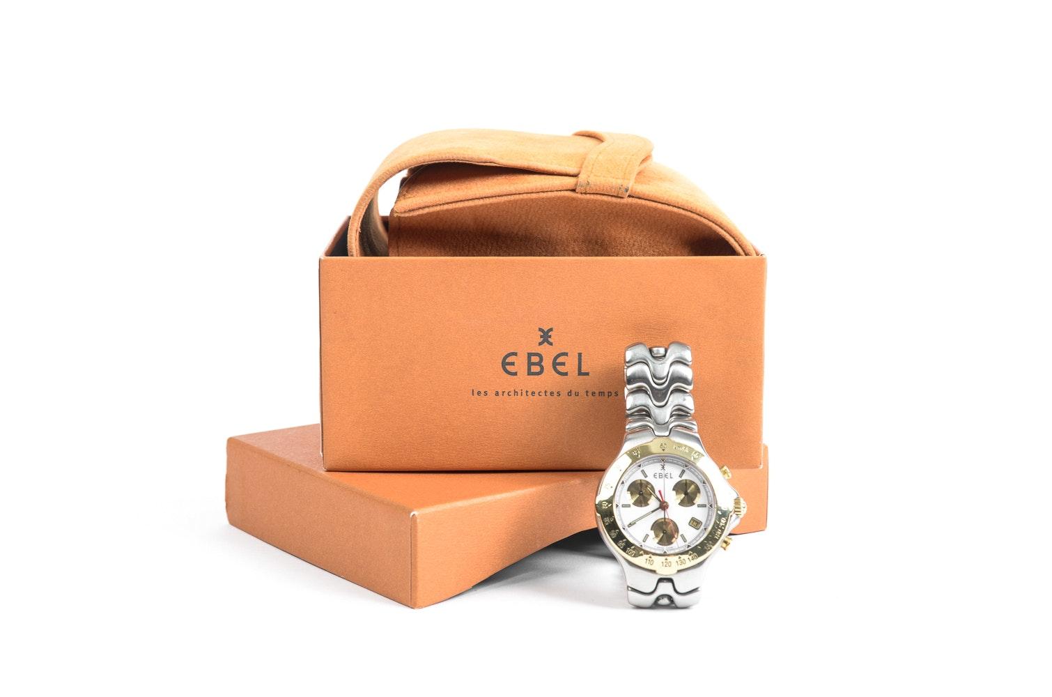 Ebel Sportwave Two Tone Men's Wristwatch