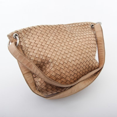 Bottega Veneta Intrecciato Leather Purse