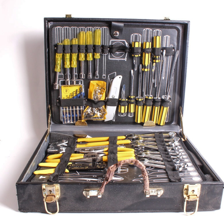 Case with Tool Collection