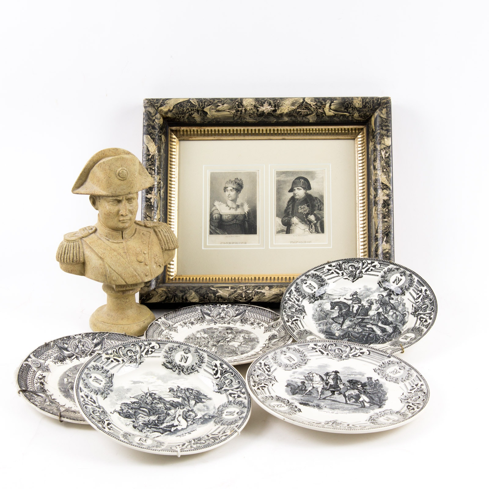Antique to Modern Napoleon Themed Home Decor Set