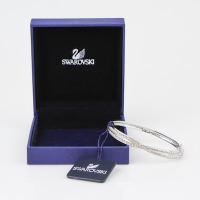 Swarovski Crystal Edith Bangle