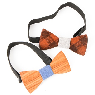 Pair of Two Guys Bow Ties