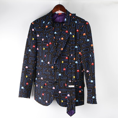 Men's Pac-Man Themed Suit by Opposuits