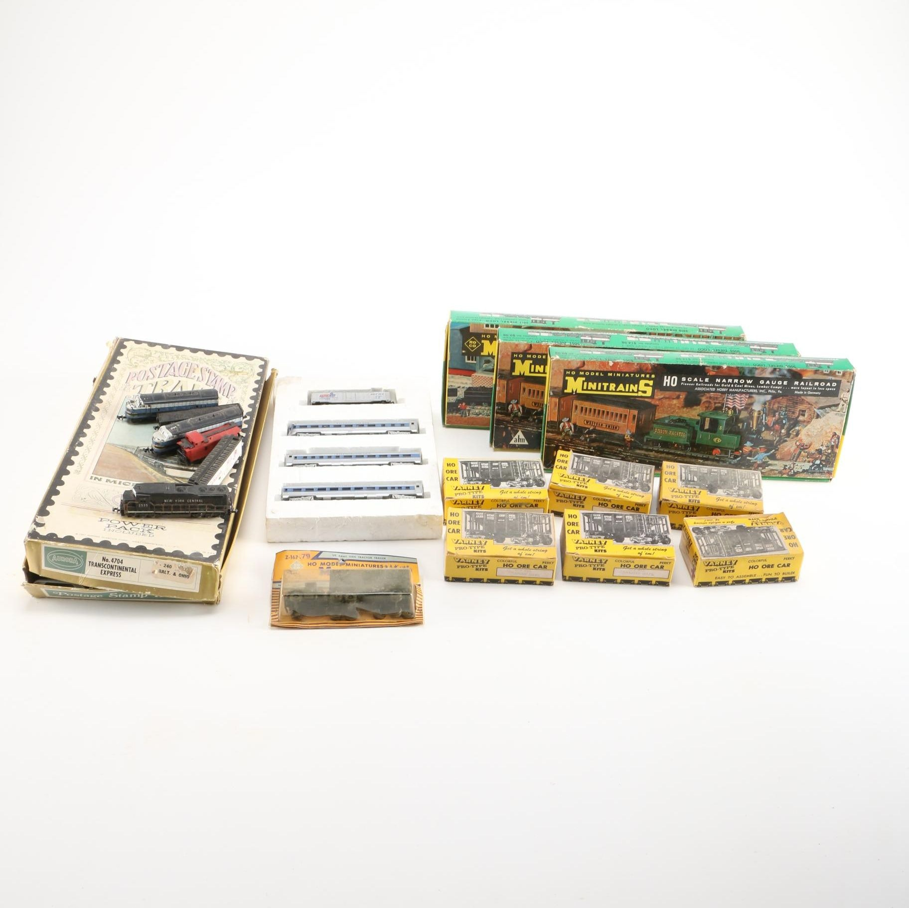 Assorted Model Trains and Cars