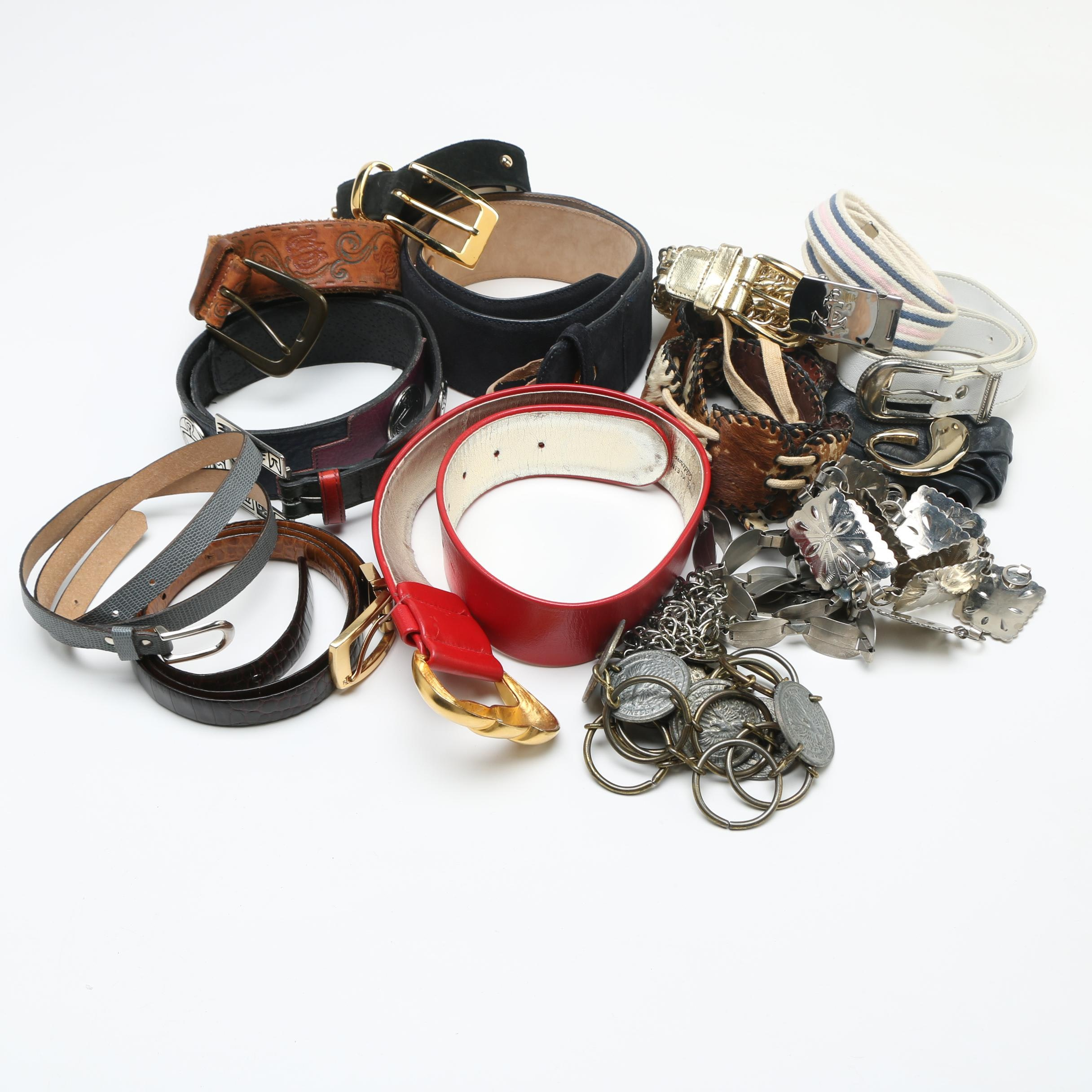 Large Assortment of Women's Vintage Belts