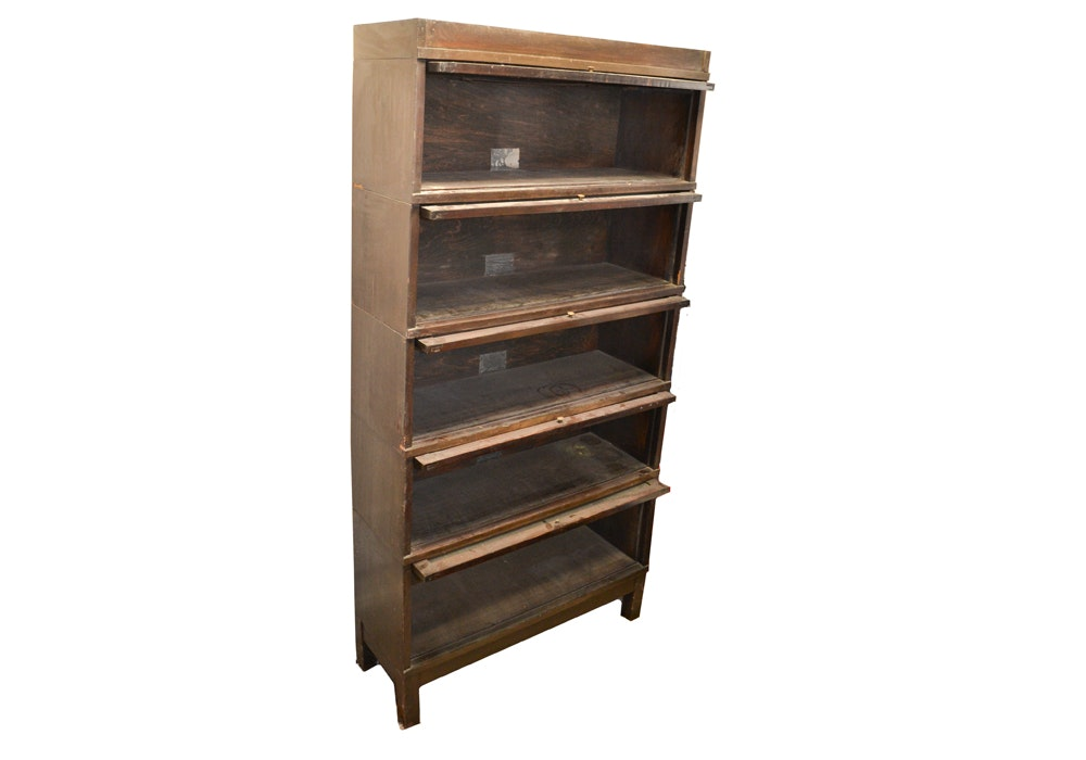 Sectioned Barrister's Bookcase