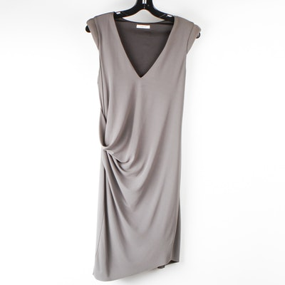 Helmut Lang Draped Dress