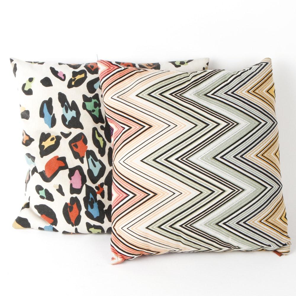 Pair of Missoni Throw Pillows
