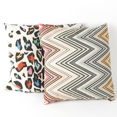 Pair of Missoni Throw Pillows