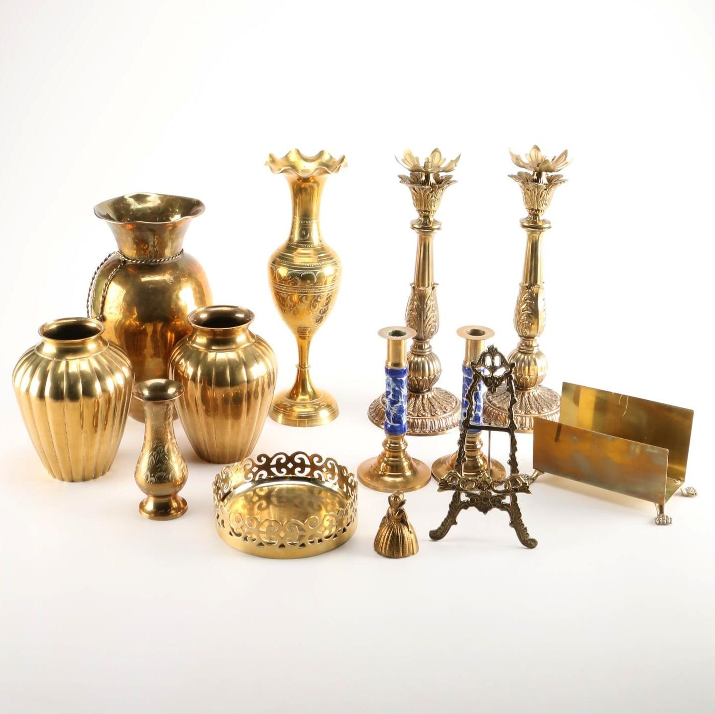 Collection of Brass Housewares