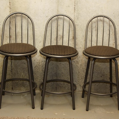 Tell City Maple Bar Stools Ebth