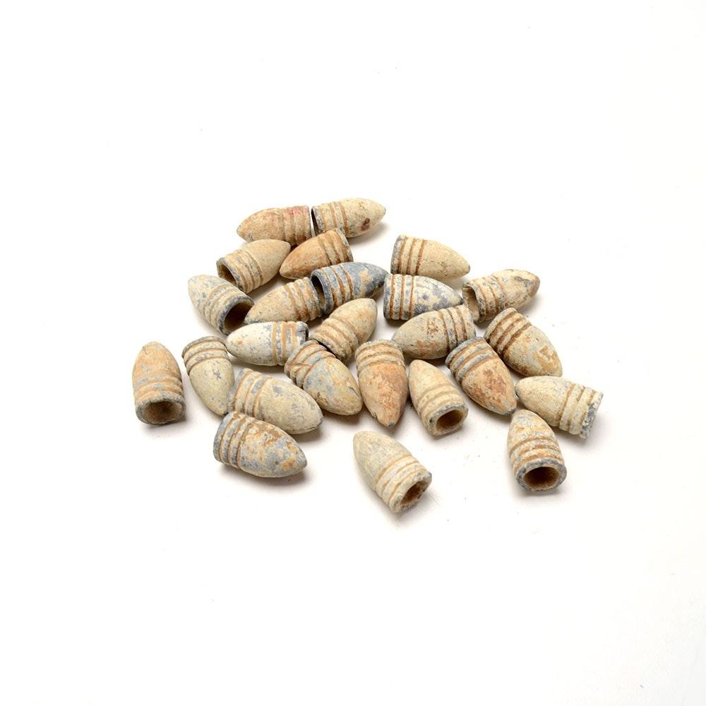 Group of 25 Civil War Bullets
