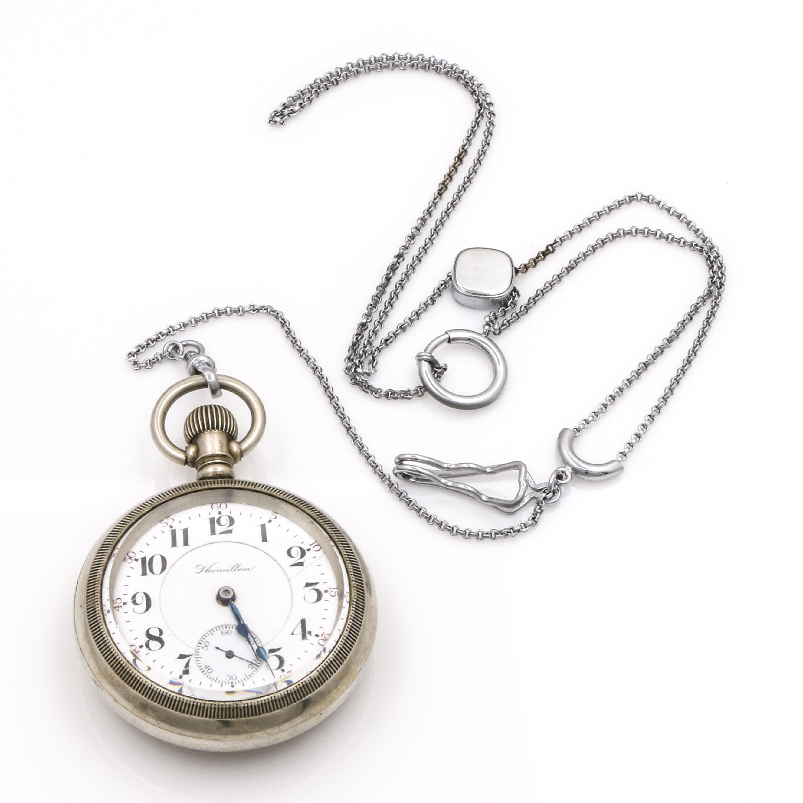 Silverode Hamilton Pocket Watch