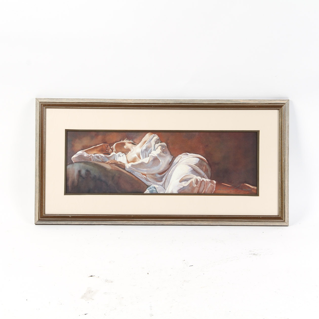 """Steve Hanks Signed Limited Edition Lithograph """"Emotional Appeal"""" with COA"""