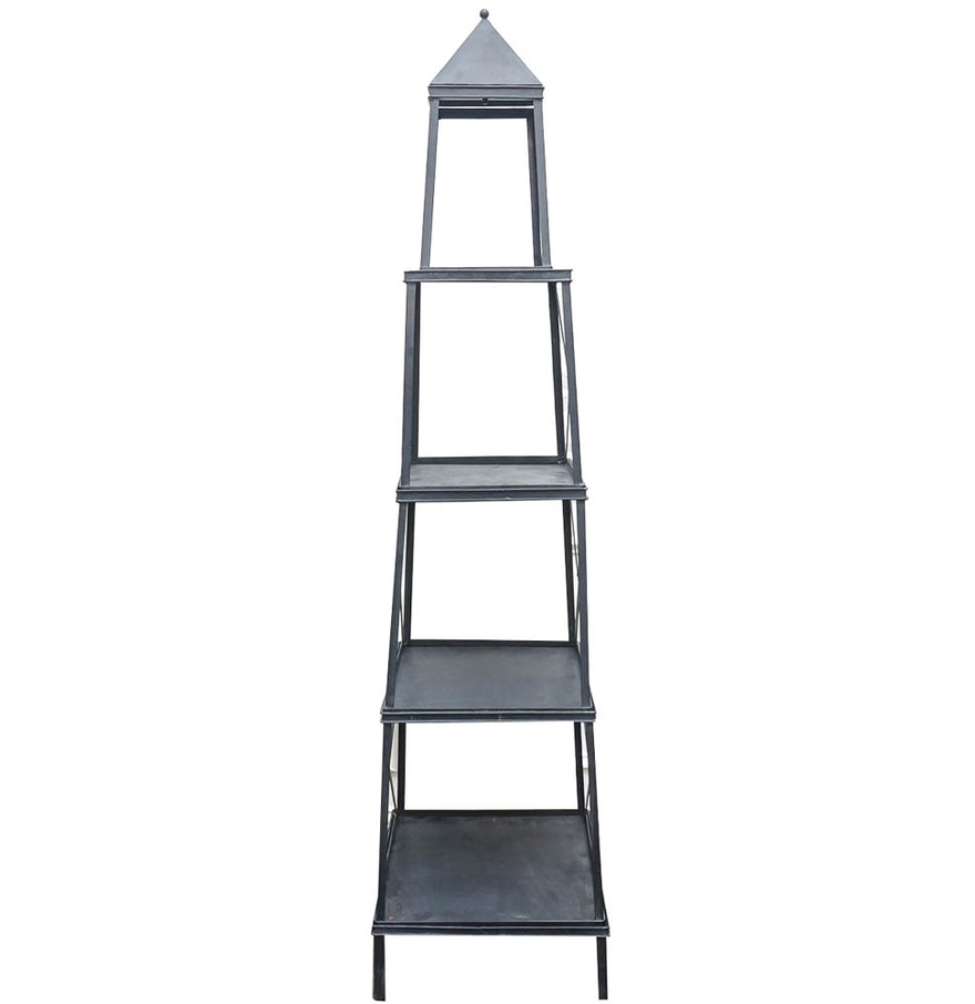 Stacking Metal Shelving Tower : EBTH