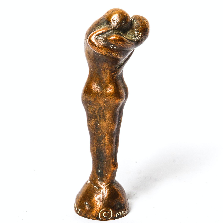 "Malvina Hoffman Bronze Sculpture ""Column of Life"""