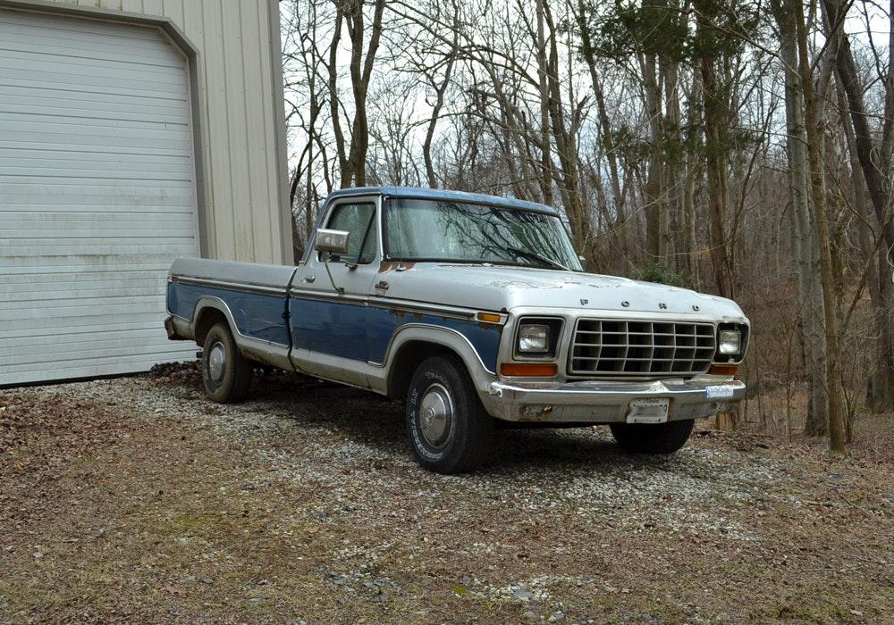 1978 Ford F150 Ranger Lariat Truck